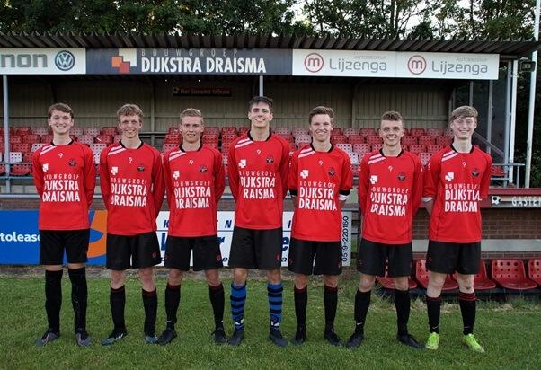 Broeksterboys voegt zeven spelers uit jeugdopleiding toe aan a-selectie